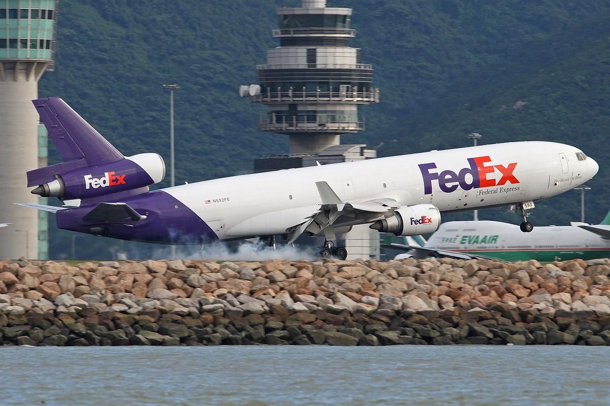 Re:[原创]很久没发帖了,冒个泡。o  O MCDONNELL DOUGLAS MD-11 N592FE 中国香港赤鱲角国际机场