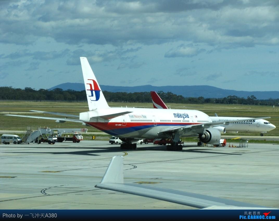 Re:[原创]搭乘新西蘭航太平洋經濟艙【繞著飛回國】MEL-AKL-PVG BOEING 777-2H6ER 9M-MRE Australia MELBOURNE TULAMARINE