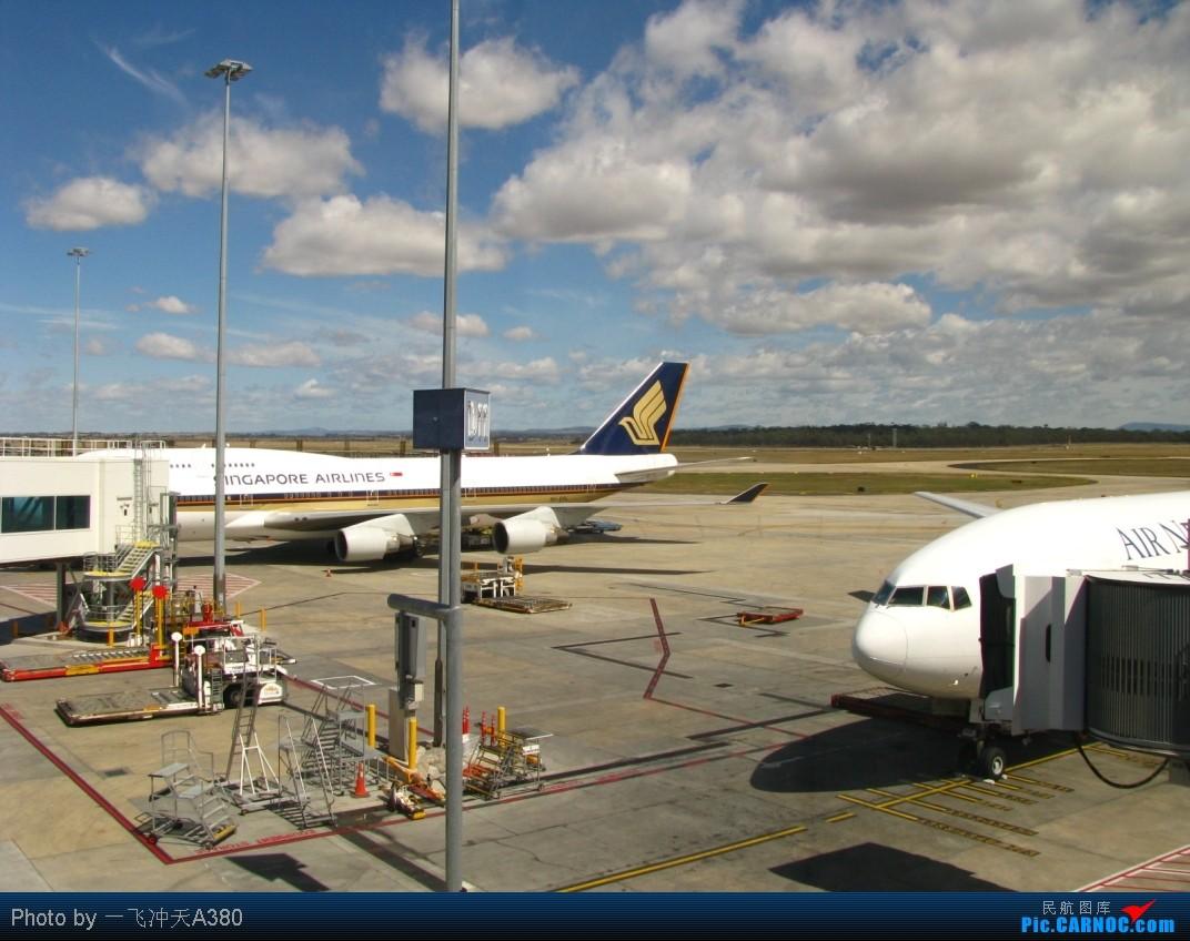 Re:[原创]搭乘新西蘭航太平洋經濟艙【繞著飛回國】MEL-AKL-PVG BOEING 747-412 9V-SPL Australia MELBOURNE TULAMARINE