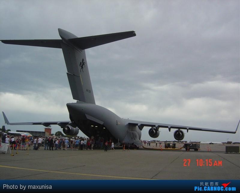Re:[原创]发些重量级的!澳大利亚皇家空军C-17,古巴航空IL-96光临首都机场