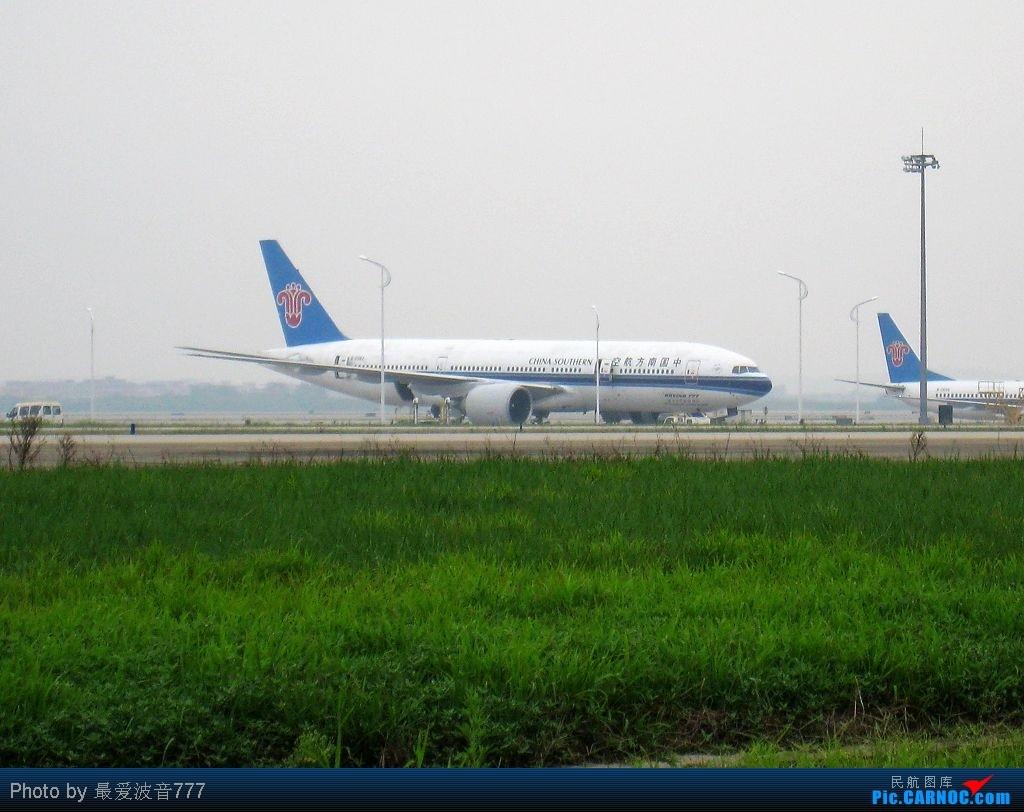 Re:[原创]今日的CAN一日,烂天,南风,机库前 BOEING 777-200ER B-2062 中国广州白云机场