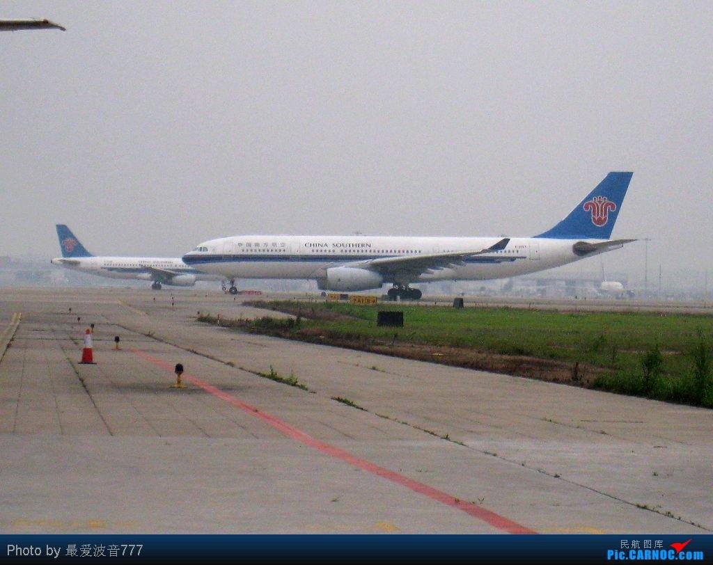 Re:[原创]今日的CAN一日,烂天,南风,机库前 AIRBUS A330-200 B-6057 中国广州白云机场