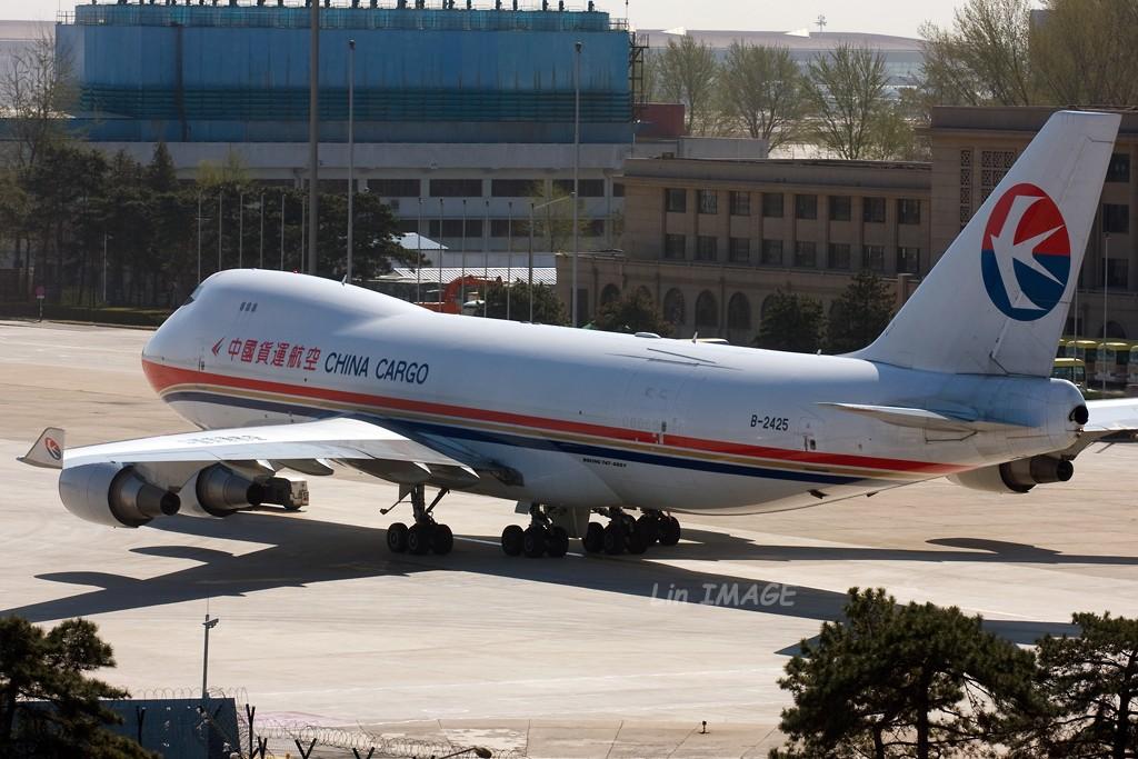 Re:[原创]<老林制造>中货航744,一次拍个够 BOEING 747-400F B-2425 中国北京首都机场