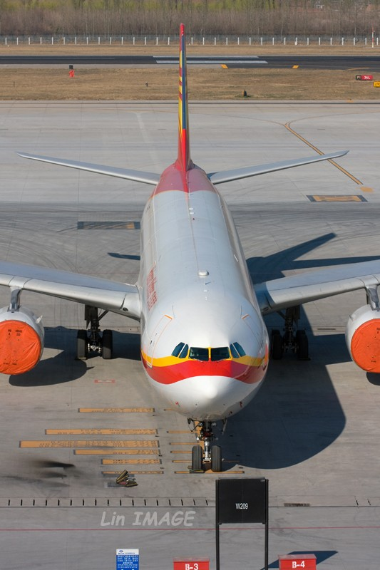 Re:[原创]<老林制造>中货航744,一次拍个够 AIRBUS A340-600 B-6510 中国北京首都机场
