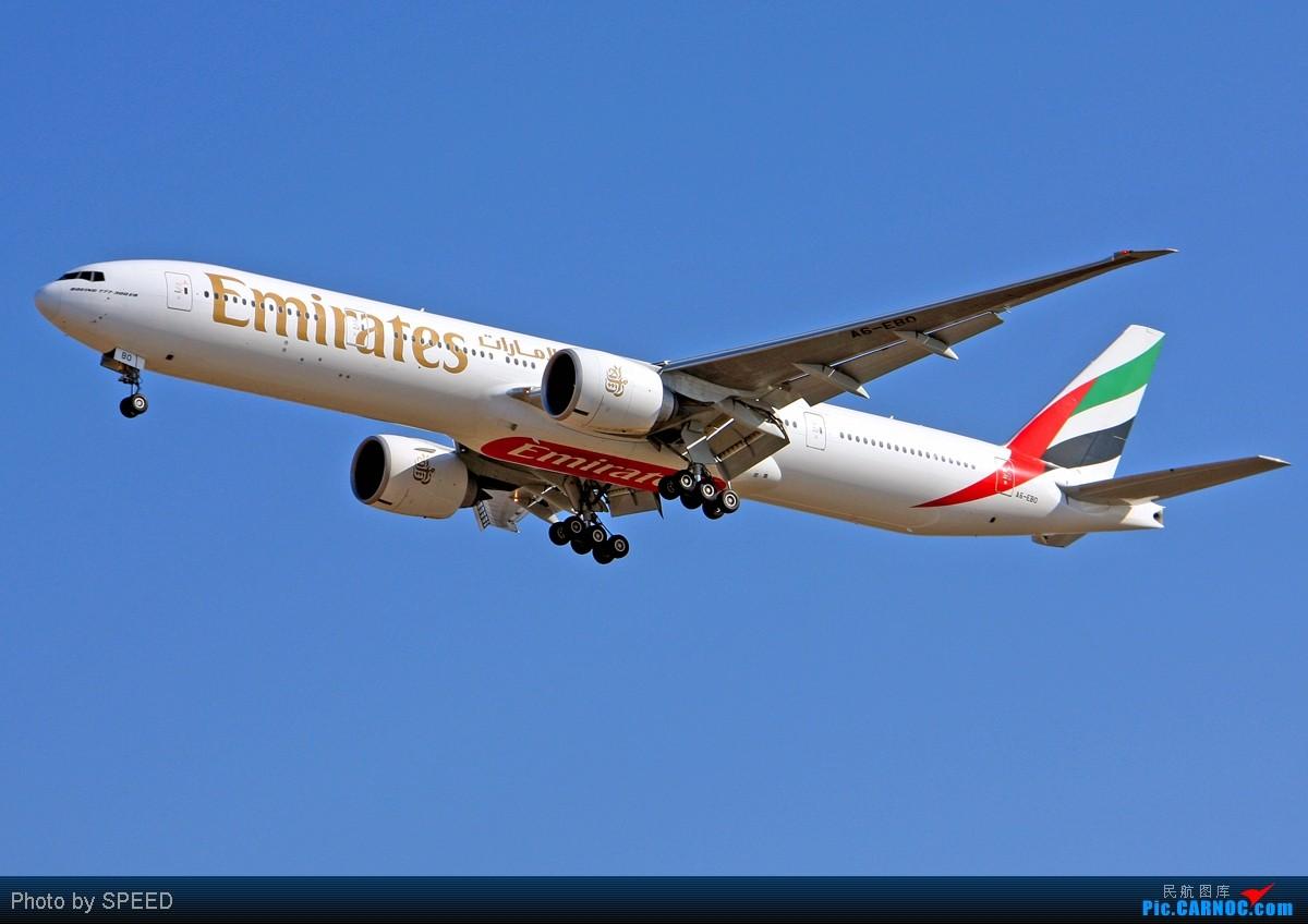 Re:红肚兜 BOEING 777-300ER A6-EBO PEK