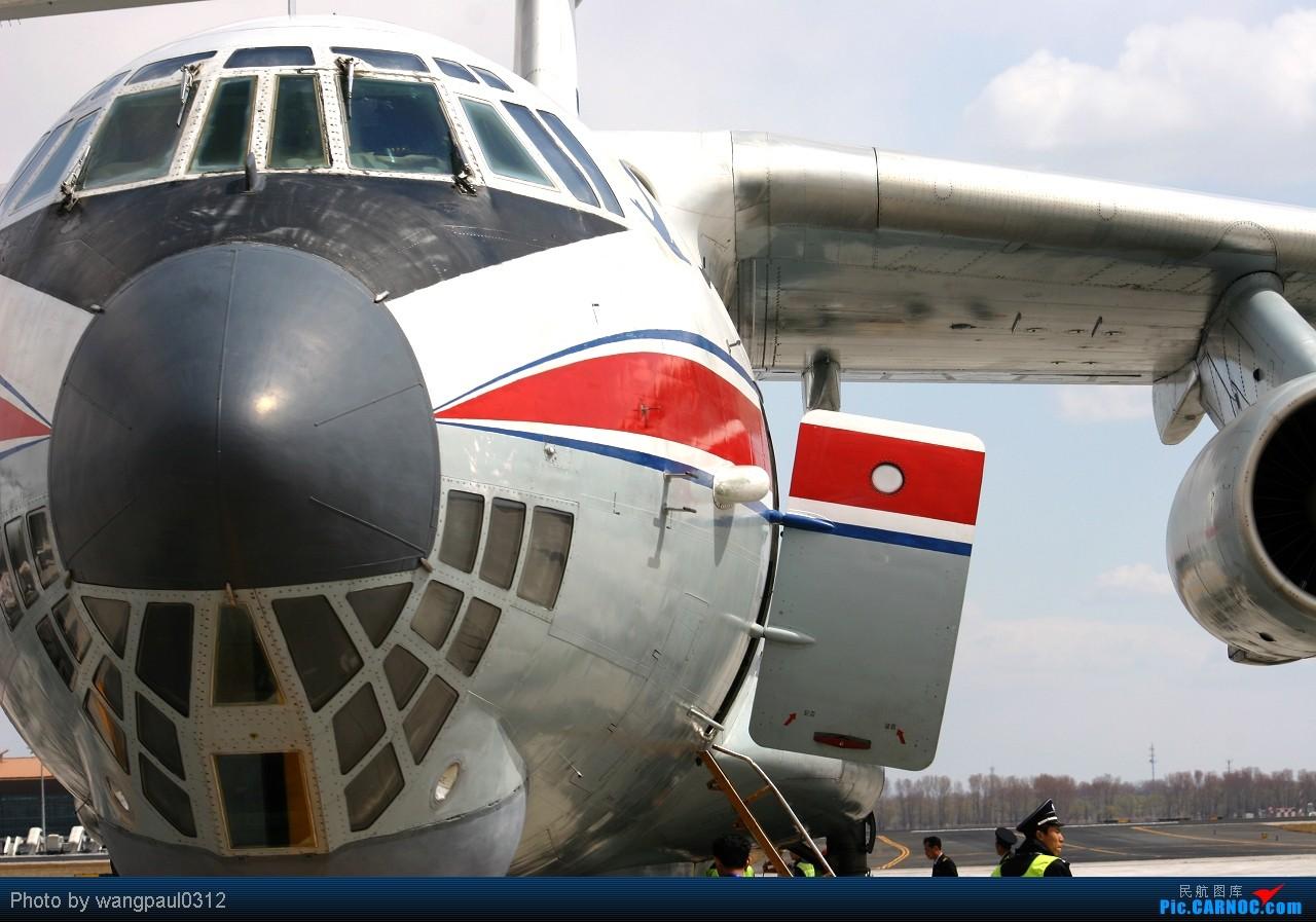 Re:[原创]喜欢苏制客机的请进[IL-96&IL-76] ILYUSHIN IL-76 P-912 北京首都国际机场
