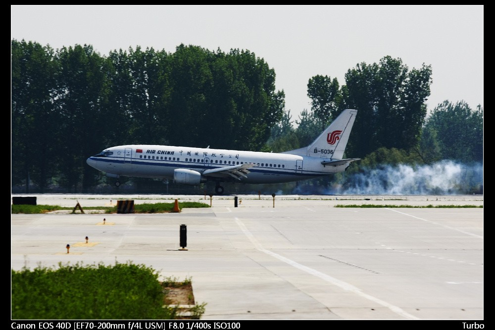 Re:[原创]注册以来第一次拍机发帖,拍的不好多多指教+包涵 BOEING 737-300 B-5036 中国北京首都机场