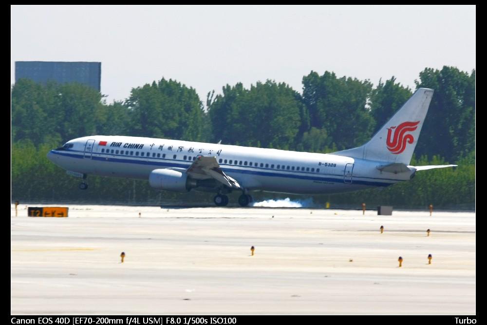 Re:[原创]注册以来第一次拍机发帖,拍的不好多多指教+包涵 BOEING 737-800 B-5328 中国北京首都机场