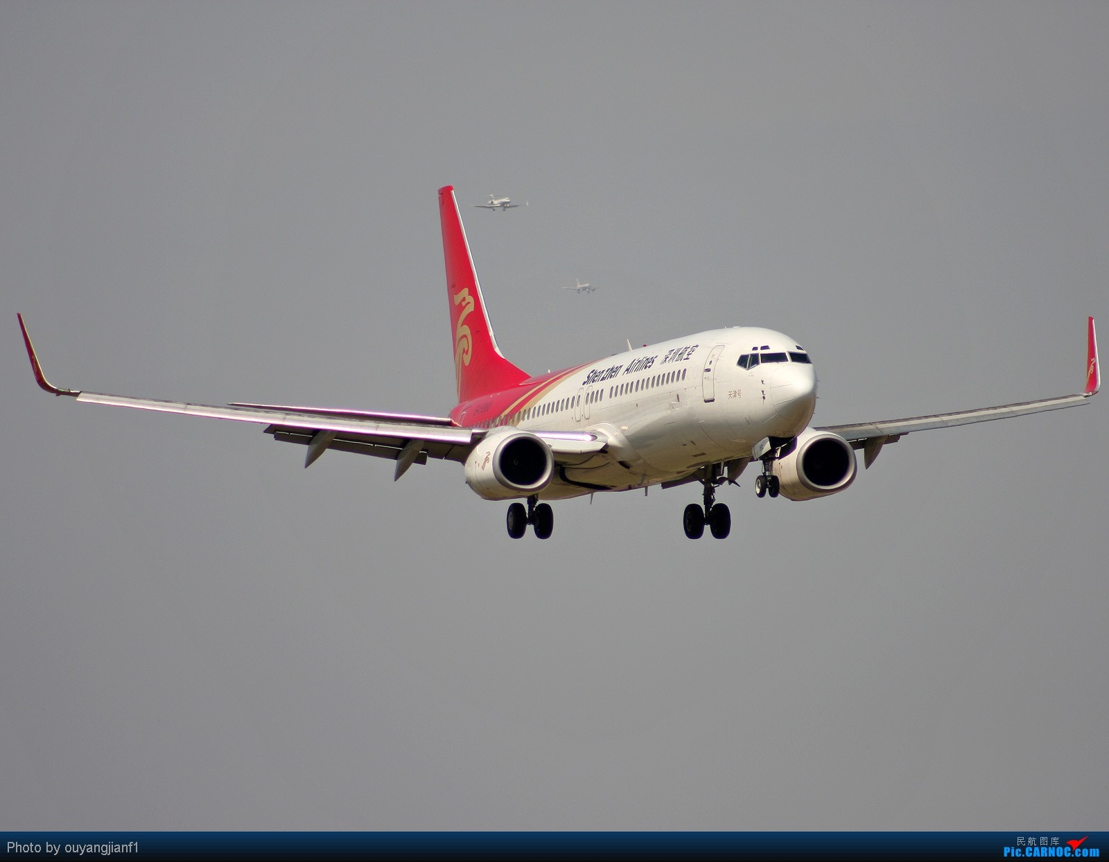 Re:[原创]快有一年没去西跑道了,拍机的感觉已逐渐淡忘,但是只要心中有梦,手中有单反,一切皆有可能! BOEING 737-800 B-5360 北京