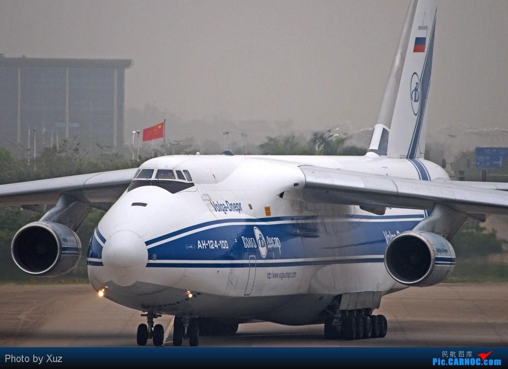 [原创]老徐拍飞机 - 如果没这飞机,就超过一个月没来白云拍飞机 ANTONOV AN-124 RA-82042 中国广州白云机场