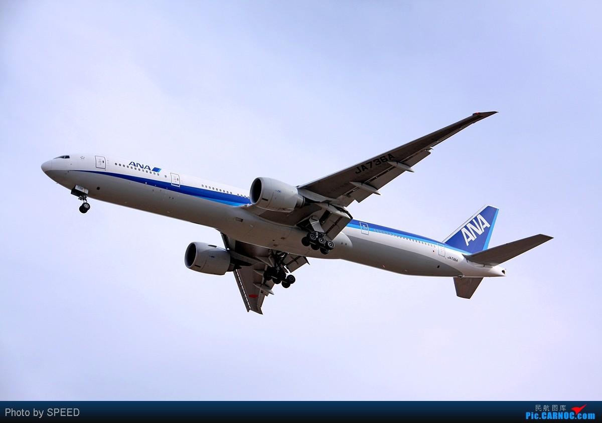 Re:[原创]ANA的大香肠 JA736A BOEING 777-300 JA736A PEK