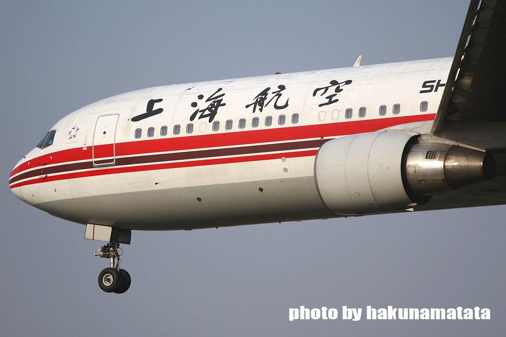 Re:[原创]{哈库庆祝}虹桥大飞机庆祝五一国际劳动节 BOEING 767-300 B-2500 中国上海虹桥机场