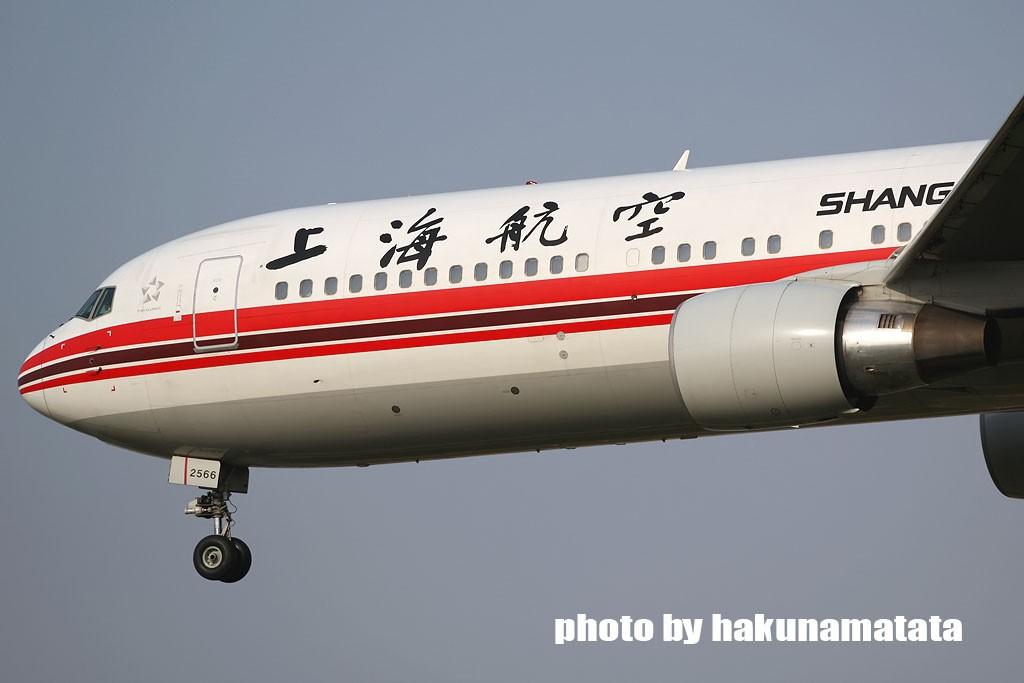 Re:[原创]{哈库庆祝}虹桥大飞机庆祝五一国际劳动节 BOEING 767-300 B-2566 中国上海虹桥机场