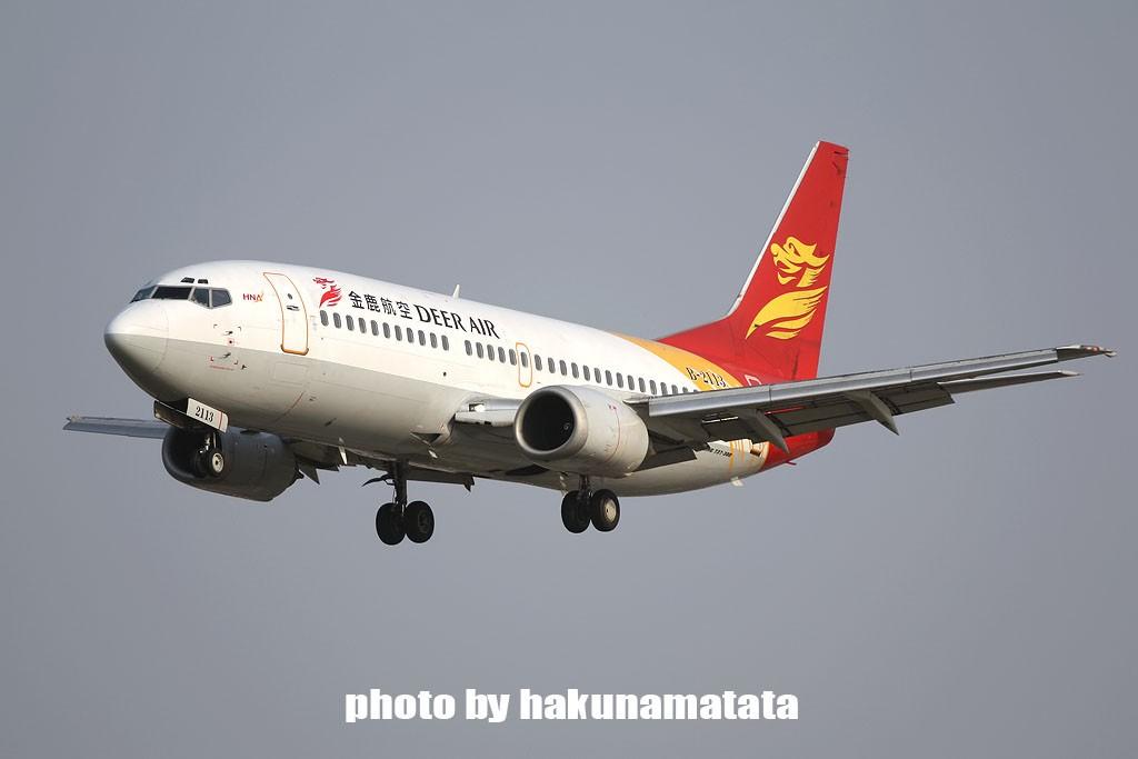 Re:[原创]{哈库庆祝}虹桥大飞机庆祝五一国际劳动节 BOEING 737-300 B-2113 中国上海虹桥机场