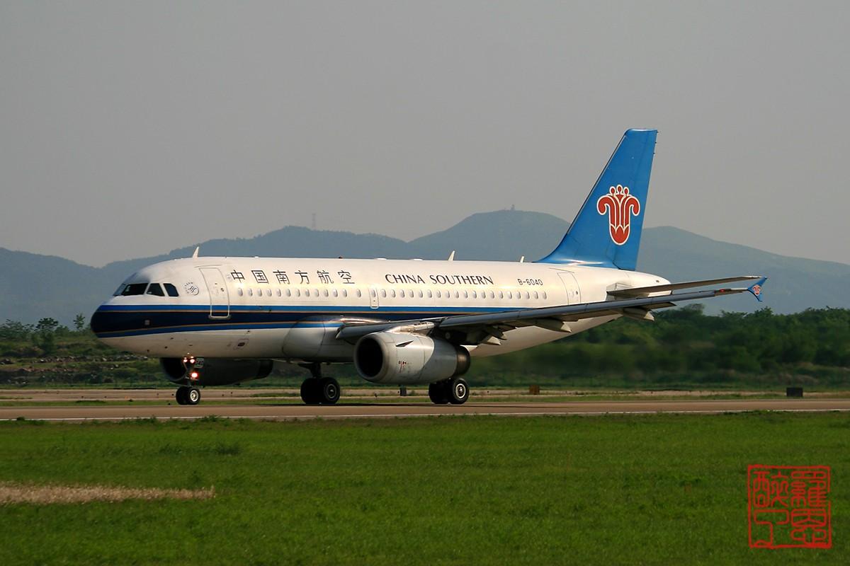 [原创]NKG~不能错过的好天气--白菜 AIRBUS A319-100 B-6040 中国南京禄口机场