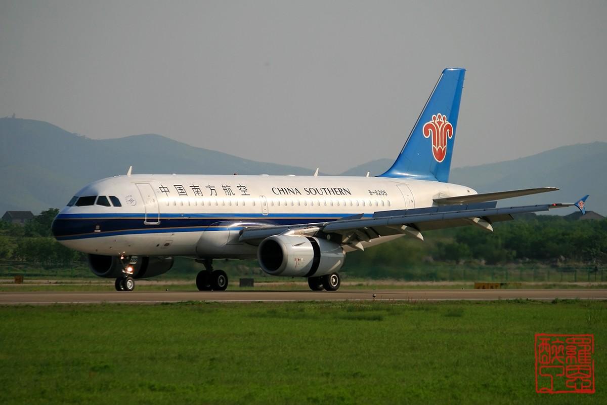 Re:NKG~不能错过的好天气--白菜 AIRBUS A319-100 B-6205 中国南京禄口机场