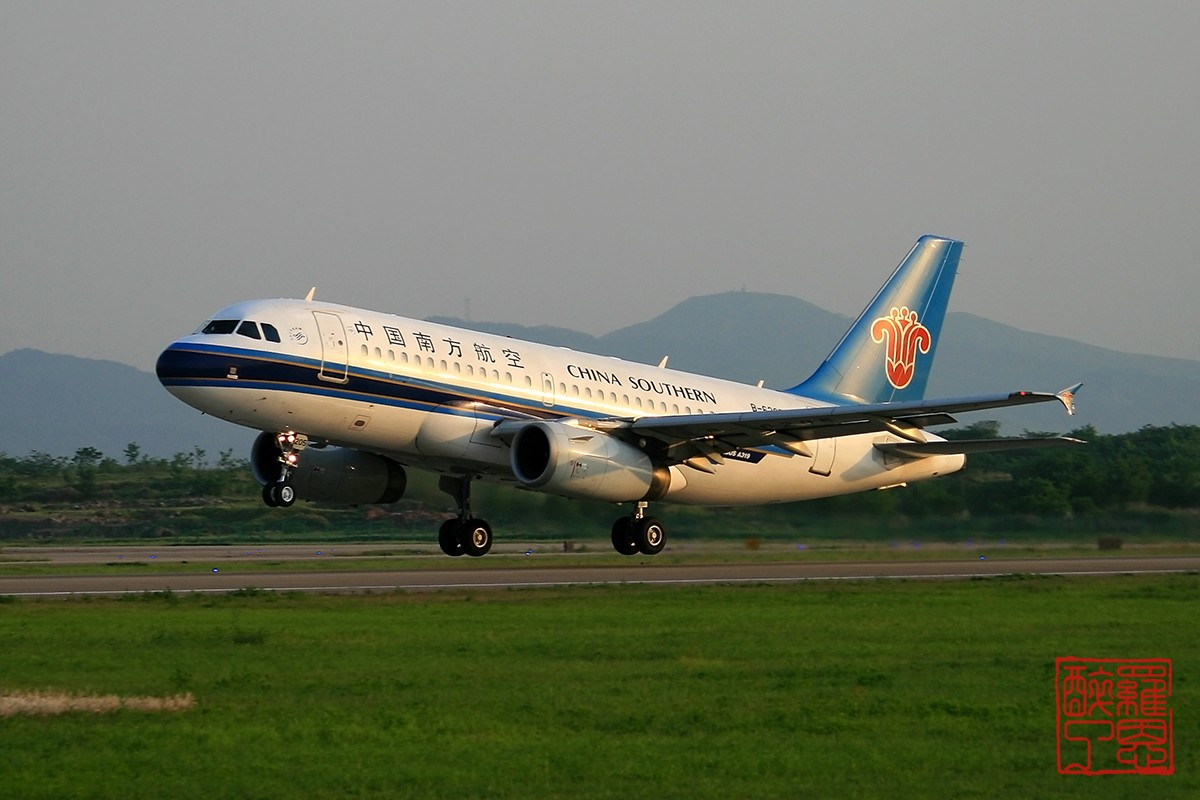 Re:[原创]NKG~不能错过的好天气--白菜 AIRBUS A319-100 B-6205 中国南京禄口机场