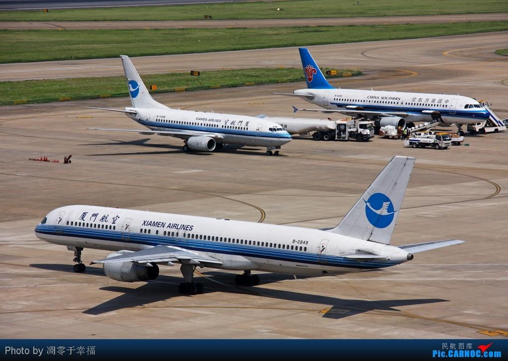 Re:[原创]人生路漫漫,白鹭常相伴!! BOEING 757-200 B-2849 中国上海虹桥机场