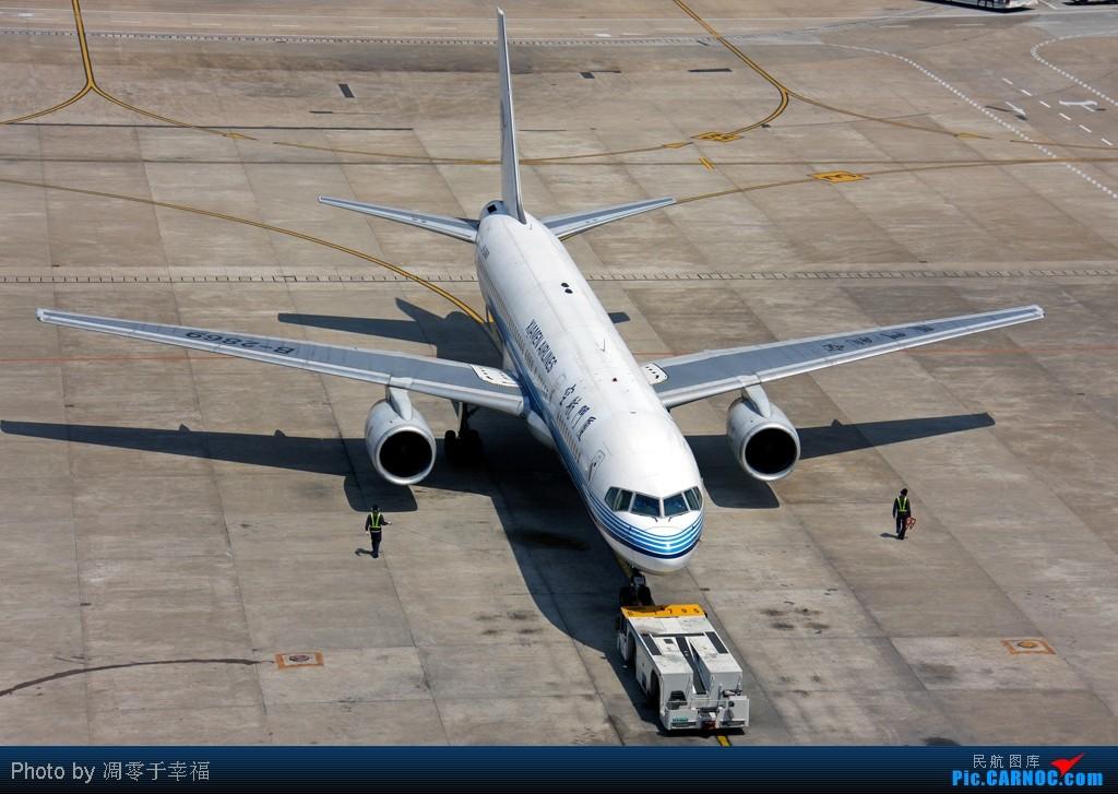 Re:[原创]人生路漫漫,白鹭常相伴!! BOEING 757-200 B-2869 中国上海虹桥机场