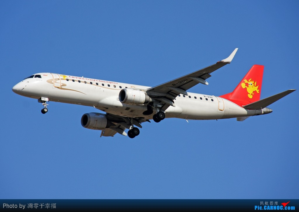 Re:[原创]PEK--蓝色舞台的节奏 EMBRAER ERJ-190 B-3121 中国北京首都机场