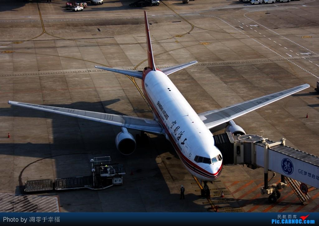 Re:[原创]SHA--大早上拍的照片 BOEING 767-300 B-2567 中国上海虹桥机场