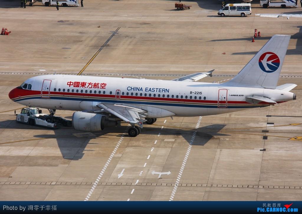 Re:[原创]SHA--大早上拍的照片 AIRBUS A319-100 B-2215 中国上海虹桥机场