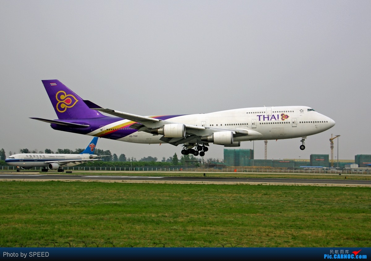 Re:心态要好!老态也不能龙钟 BOEING 747-400 HS-TGZ PEK
