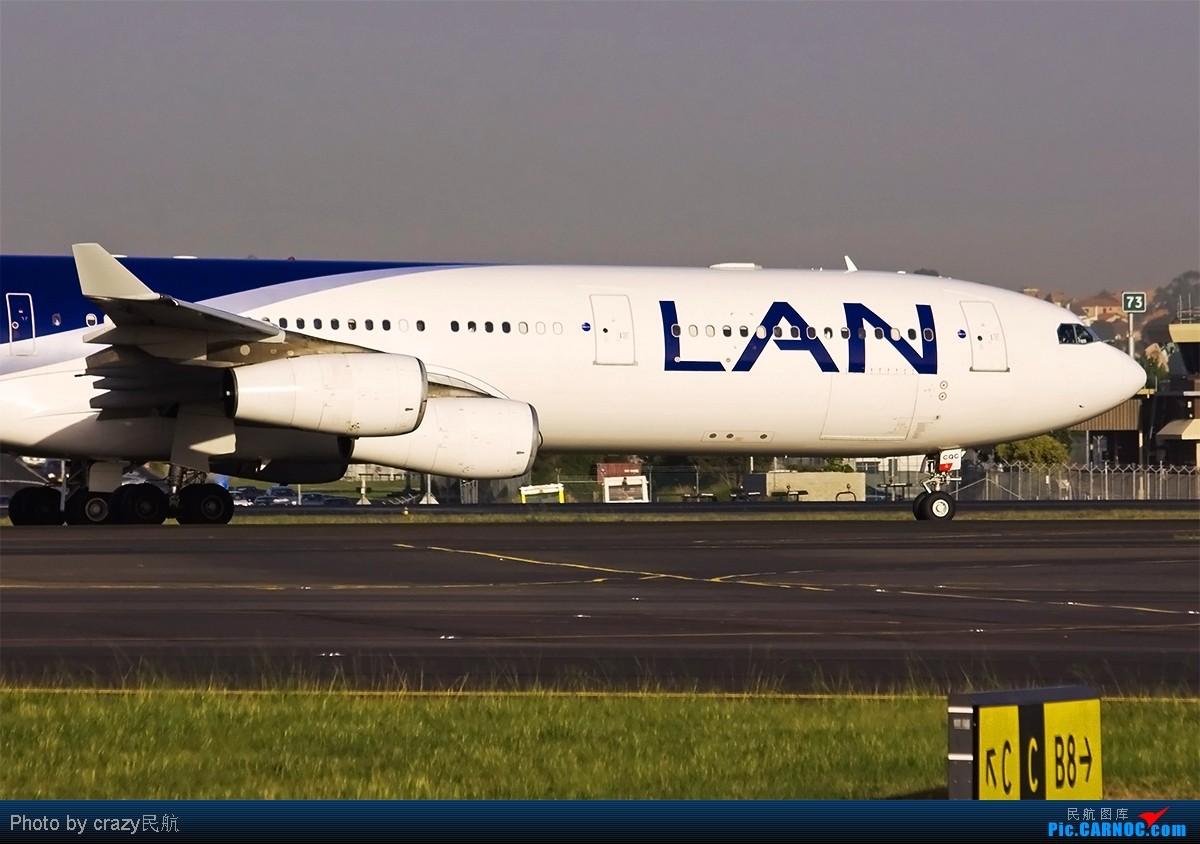 Re:飞机大甩卖了~~一排一架,一排一架,过来看过来砸啦~~ AIRBUS A340-300 CC-CQC Australia SYDNEY KINGSFORD