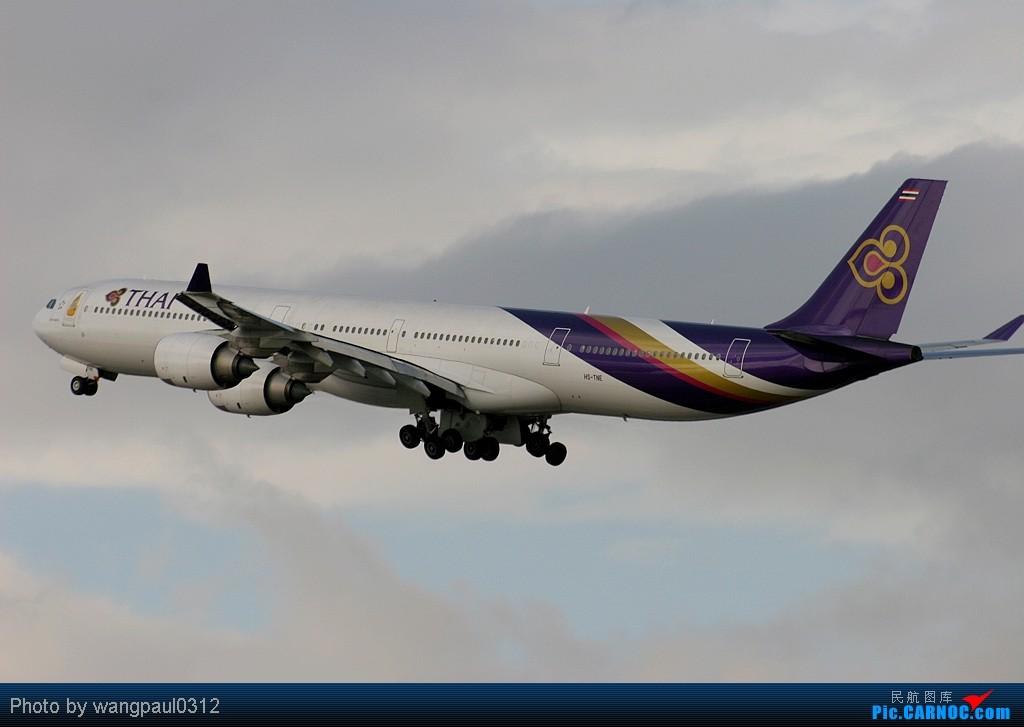 Re:心态要好!老态也不能龙钟 AIRBUS A340-642 HS-TNE 北京首都国际机场