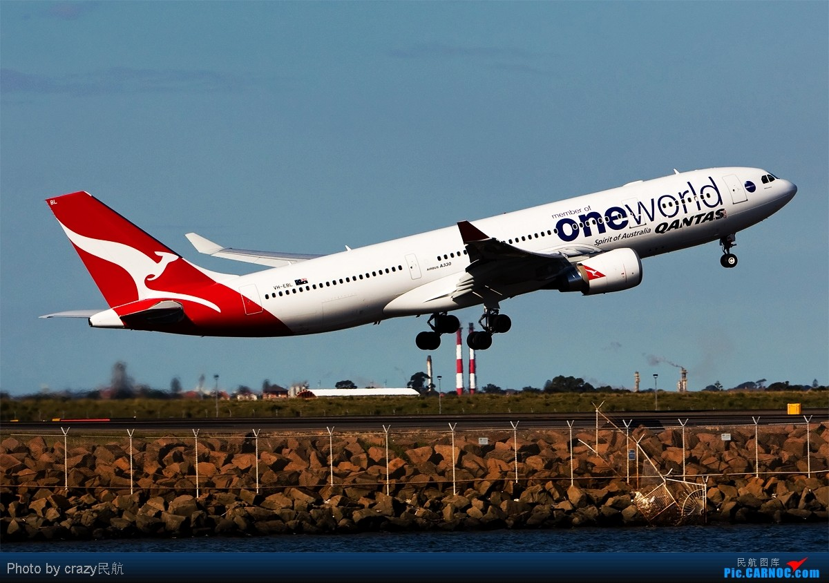 Re:[原创][SYD]实在不想想标题了.....帖子图很多,小猫慎入 AIRBUS A330-200 VH-EBL Australia SYDNEY KINGSFORD