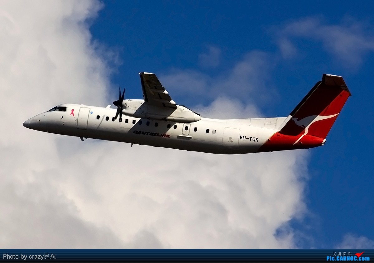 Re:[原创][SYD]实在不想想标题了.....帖子图很多,小猫慎入 DE HAVILLAN CANADA DHC-8-300 VH-TQK Australia SYDNEY KINGSFORD