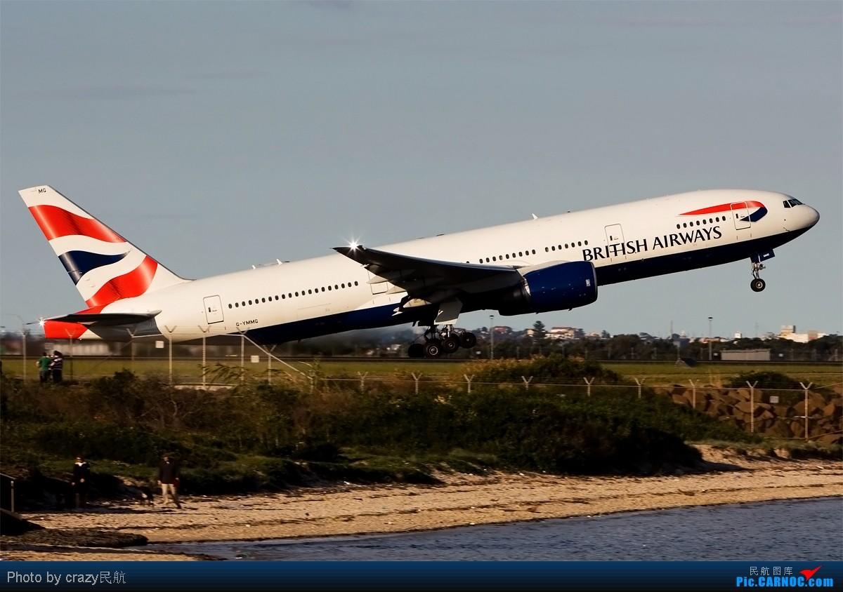 Re:[原创][SYD]实在不想想标题了.....帖子图很多,小猫慎入 BOEING 777-200/ER G-YMMG Australia SYDNEY KINGSFORD
