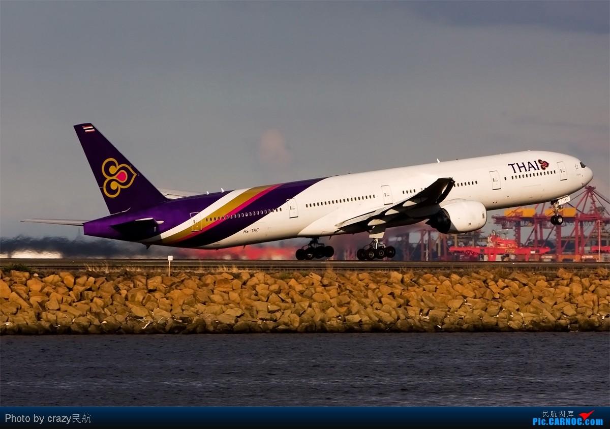 Re:[原创][SYD]实在不想想标题了.....帖子图很多,小猫慎入 BOEING 777-300 HS-TKC Australia SYDNEY KINGSFORD