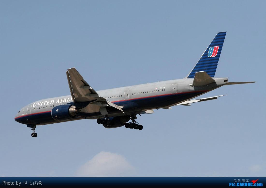 Re:[原创]海航,泰航,国航,美联航,阿联酋航等全是大家伙! BOEING 777-200 N223UA 中国北京首都机场
