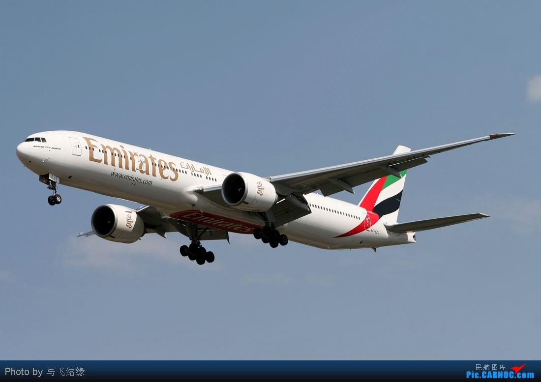 Re:[原创]海航,泰航,国航,美联航,阿联酋航等全是大家伙! BOEING 777-300 A6-ECJ 中国北京首都机场