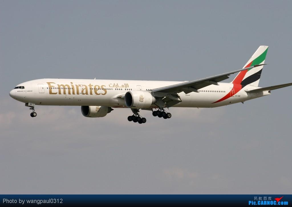 Re:[原创]海航,泰航,国航,美联航,阿联酋航等全是大家伙! BOEING 777-36N/ER A6-EBE 北京首都国际机场