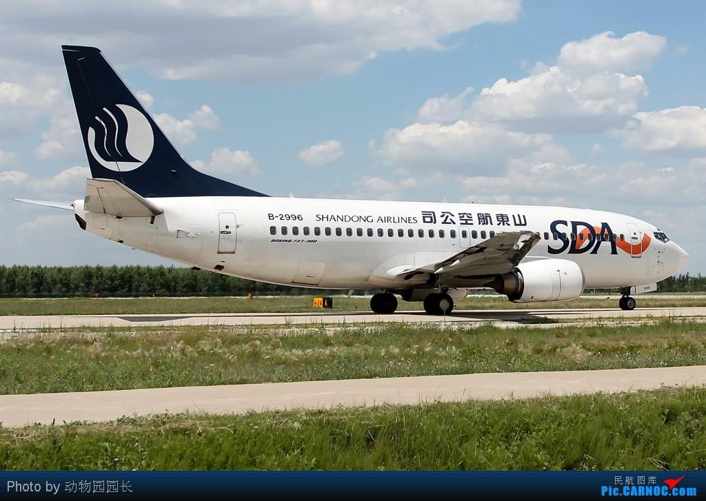 Re:[原创][CASG]★★★最爱^^^^!!——蓝天白云下的那些飞机!!!★★★ BOEING 737-300 B-2996 中国沈阳桃仙机场