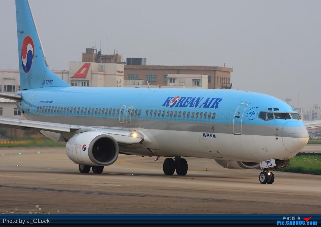 Re:[原创]★ 看一次 少一次 的位置 ★ BOEING 737-9B5 HL-7708 中国上海虹桥机场