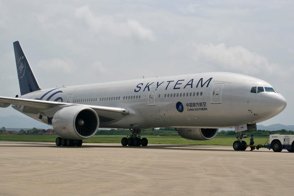 Re:[CASG]新鲜的南航天合联盟涂装,正式出场 BOEING 777-200ER B-2056 中国广州白云机场