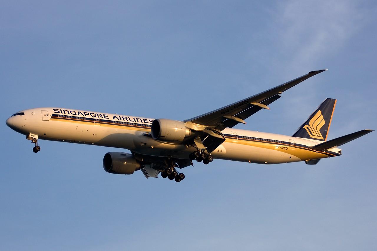 Re:[原创]没有主题,杂图一大堆(内附新航空姐照片) BOEING B777-300ER 9V-SWO Singapore SINGAPORE CHANGI