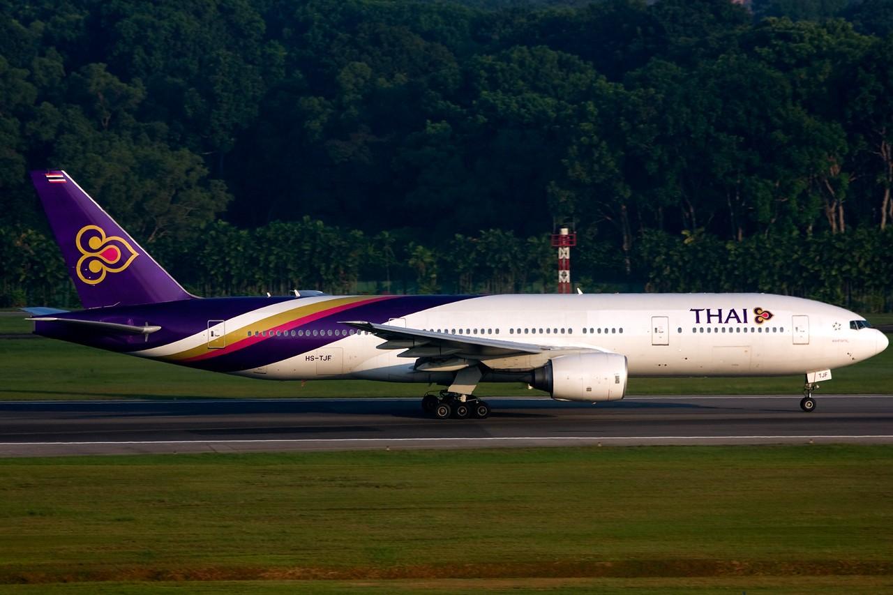 Re:[原创]没有主题,杂图一大堆(内附新航空姐照片) BOEING B777-200 HS-TJF Singapore SINGAPORE CHANGI