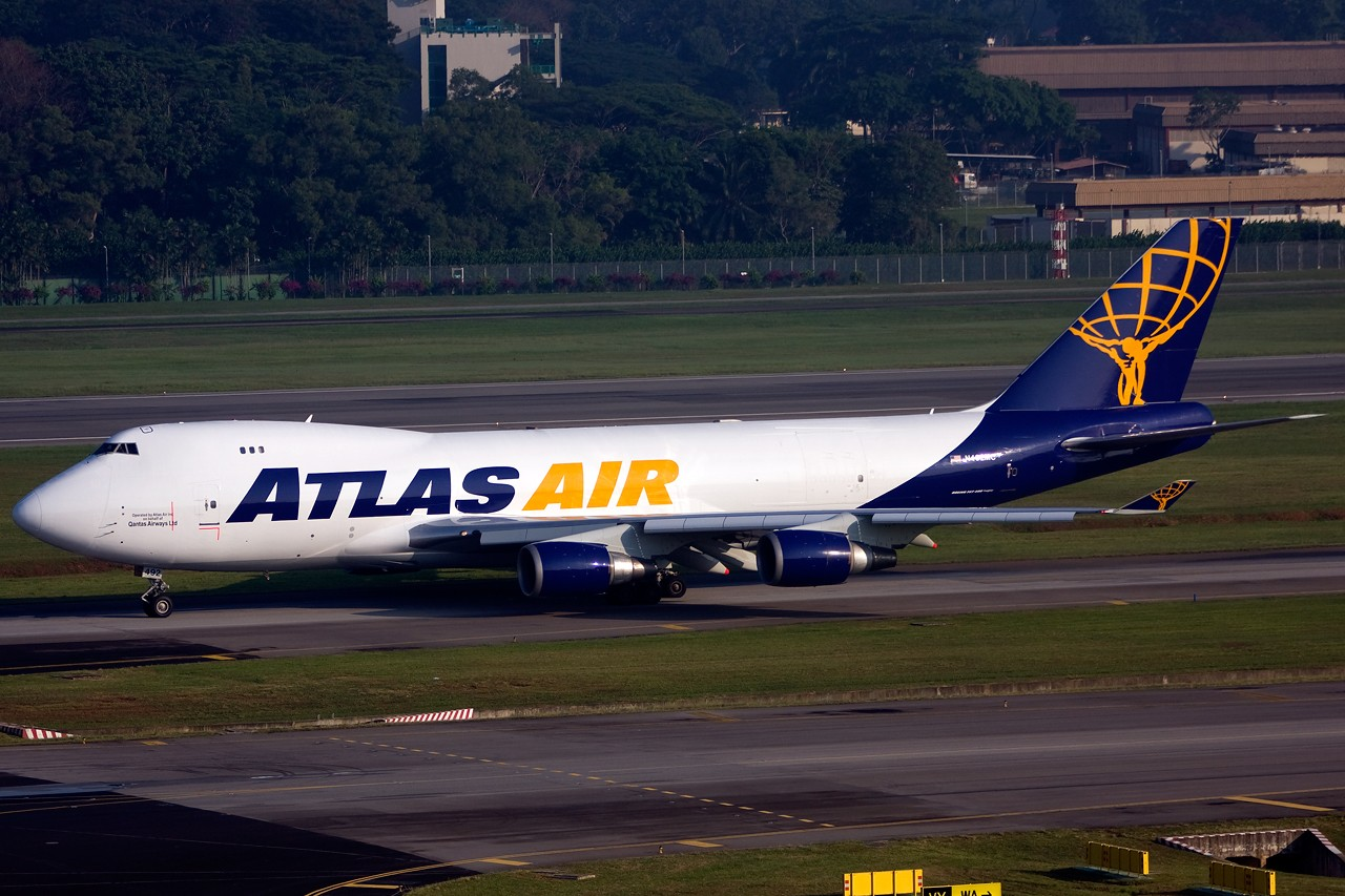 Re:[原创]没有主题,杂图一大堆(内附新航空姐照片) BOEING B747-400F N492MC Singapore SINGAPORE CHANGI