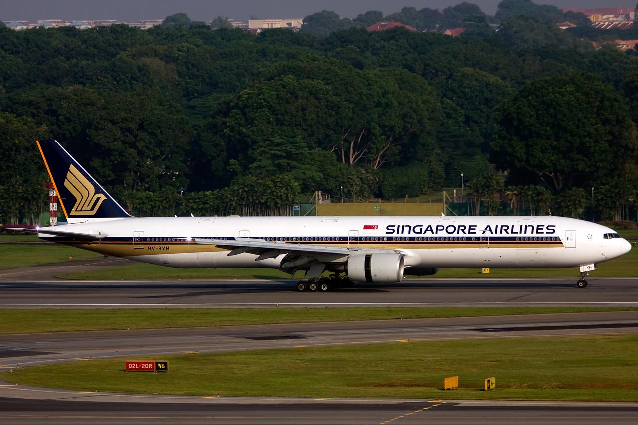 Re:[原创]没有主题,杂图一大堆(内附新航空姐照片) BOEING B777-300 9V-SYH Singapore SINGAPORE CHANGI