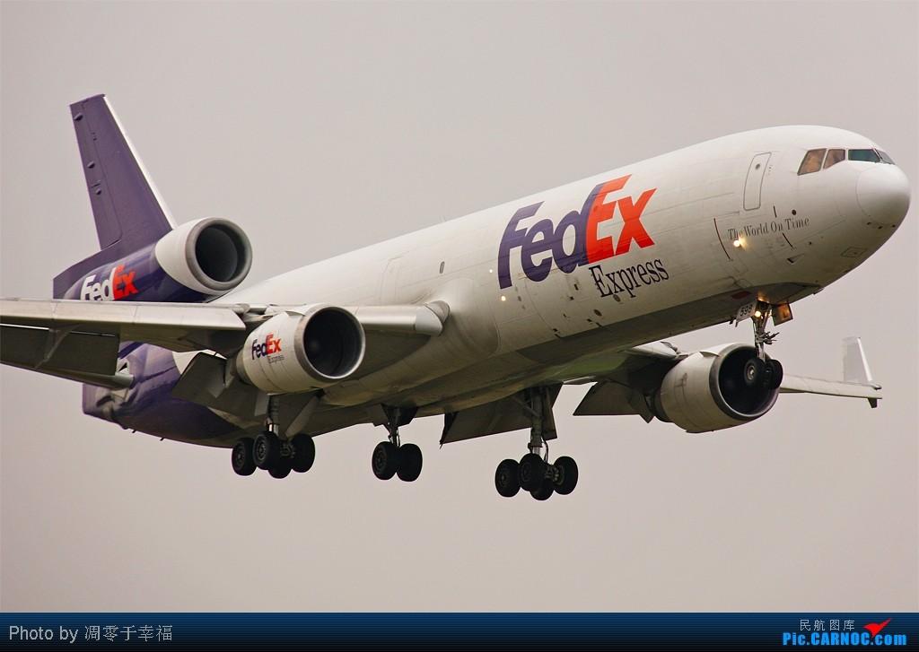 [原创]唉,一下午就拍到两架外航。。。 MCDONNELL DOUGLAS MD-11 N589FE 中国北京首都机场