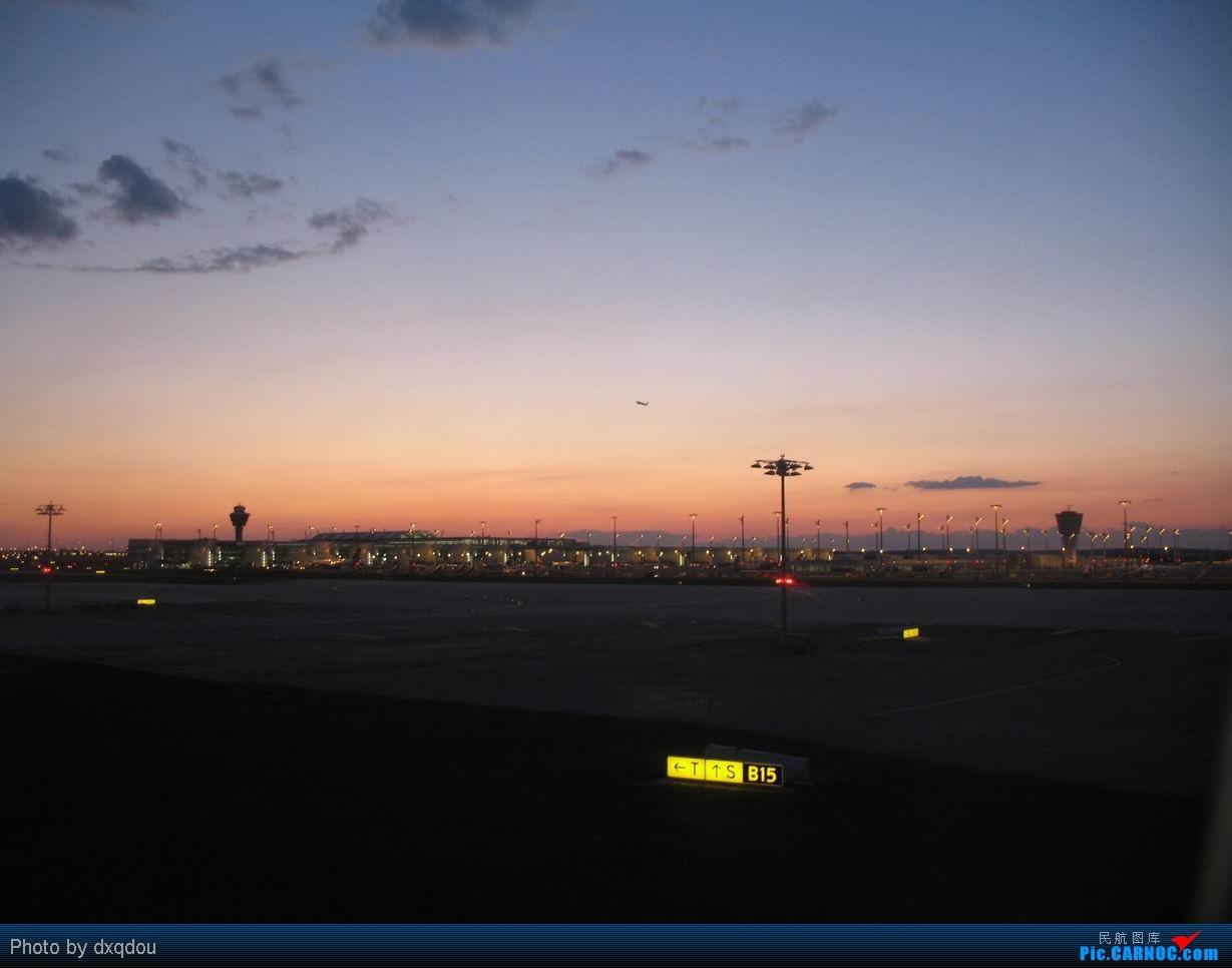 Re:[原创]首都机场那一抹漂亮的火烧云    Germany MUNICH