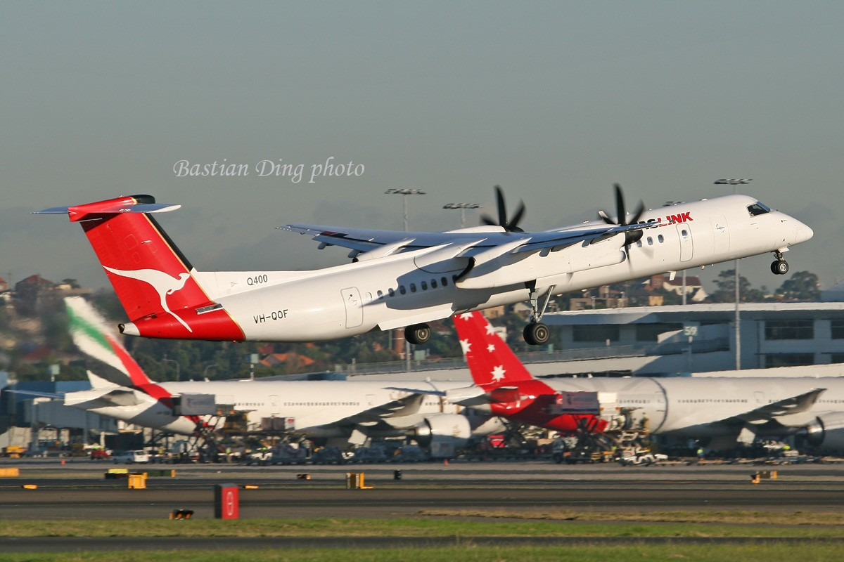Re:[原创]【CASG】夏天到了,拍飞机的黄金时间到了,好飞机也到了~~ DE HAVILLAN CANADA DHC-8-400 VH-QOF Australia SYDNEY KINGSFORD