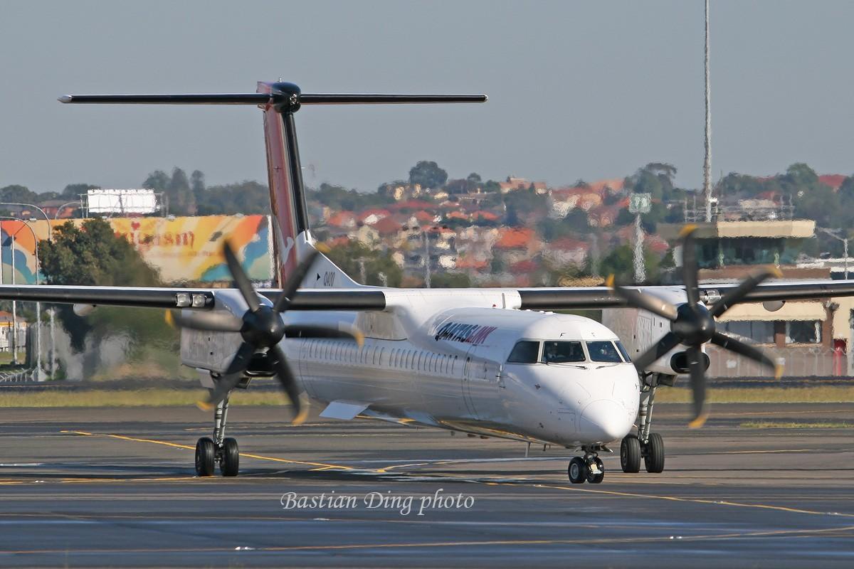 Re:[原创]【CASG】夏天到了,拍飞机的黄金时间到了,好飞机也到了~~ DE HAVILLAND CANADA DHC-8-402Q DASH 8 VH-QOF Australia SYDNEY KINGSFORD