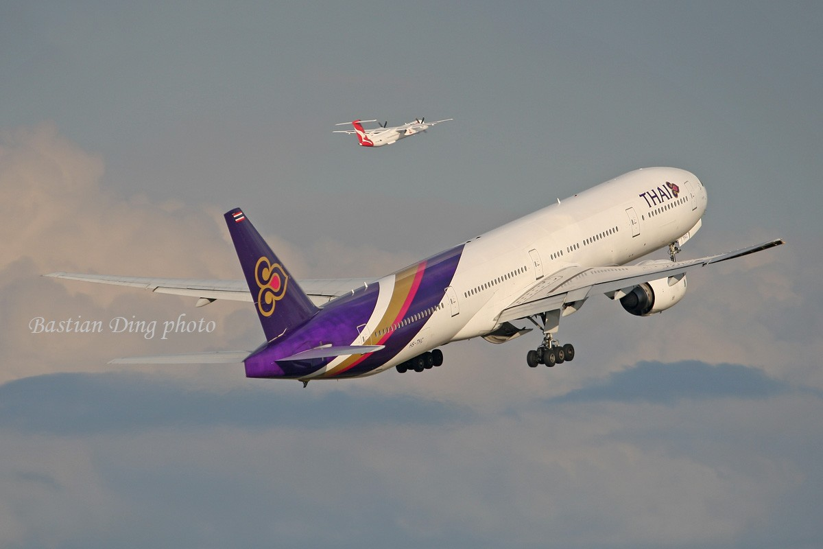 Re:[原创]【CASG】夏天到了,拍飞机的黄金时间到了,好飞机也到了~~ BOEING 777-300 HS-TKC Australia SYDNEY KINGSFORD