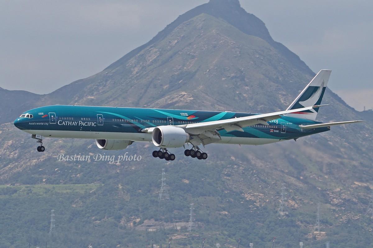 Re:[原创]【CASG】夏天到了,拍飞机的黄金时间到了,好飞机也到了~~ BOEING 777-300 B-KPF 中国香港赤鱲角国际机场