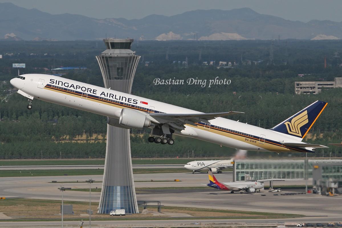 Re:[原创]【CASG】夏天到了,拍飞机的黄金时间到了,好飞机也到了~~ BOEING 777-300 9V-SQR 中国北京首都机场